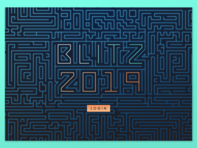 Login Screen Coveo™️ Blitz 2019