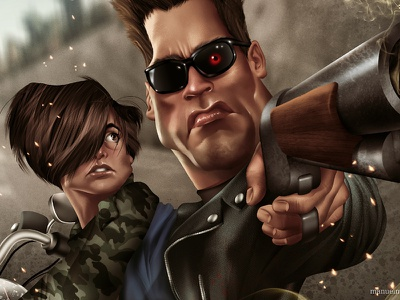 Come with me if you want to live! terminator james cameron movies cinema sci-fy