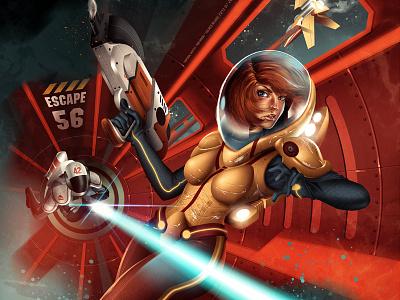 The escape! space opera sci fi