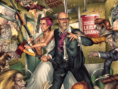 Zombie Wedding Invite zombie wedding invite