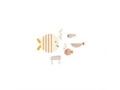 Peachtober 04: Fish fishes underwater fish