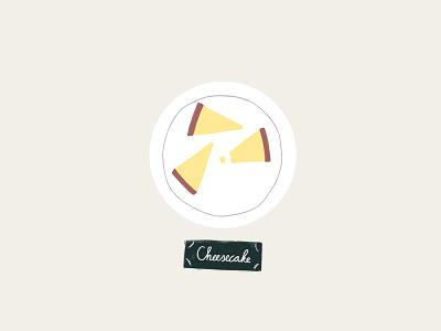 Peachtober 20: Pie chalk cheesecake cake pie