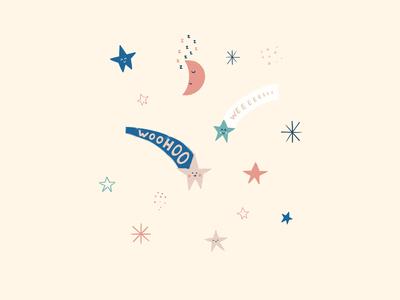 Inktober Day 11: Stars