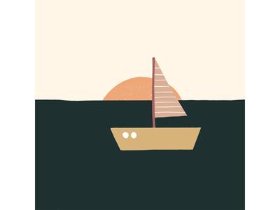 Inktober Day 13: Boat