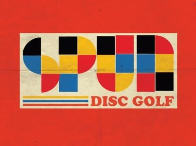 spun dg 80s 1980 vintage retro golf disc golf vector logos concept icon logo branding design illustration graphic design