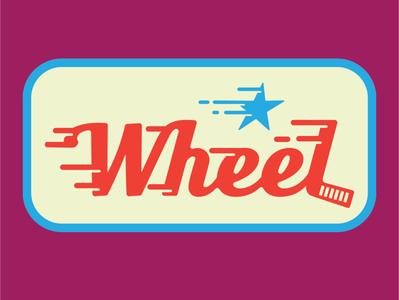 Wheel @bendindustries typography logotype identity wheel brand logos logodesign logo design illustration branding graphic design