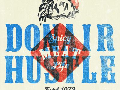 Donair Hustle graphic design graphic art hospitality restaraunt nova scotia halifax