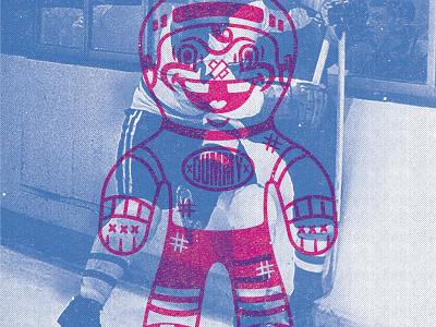 #dontbeadummy @highbarnhockey apparel logo artwork logos character character design concept design illustration branding graphic design