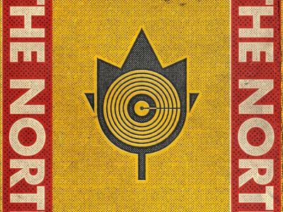 Canadian Dammit | The North vector icon typography designbrew artwork concept logo design illustration branding graphic design