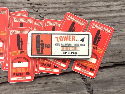 Tower No.4 | @bendindustries banding package design package branding graphic design