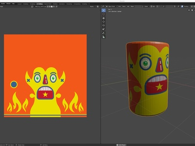Robot Toy WIP toys concept art design illustration graphic design modernism modern toys pop art blender3dart blender3d 3d mockup 3d art old school mid century texture map texture 3d modeling wip animation 3d