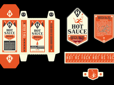 Hot Sauce Package Design | MockUp 3d mockup 3d art layout package packaging mockup box box design hot sauce bottle packaging package design character design artwork concept design illustration branding graphic design