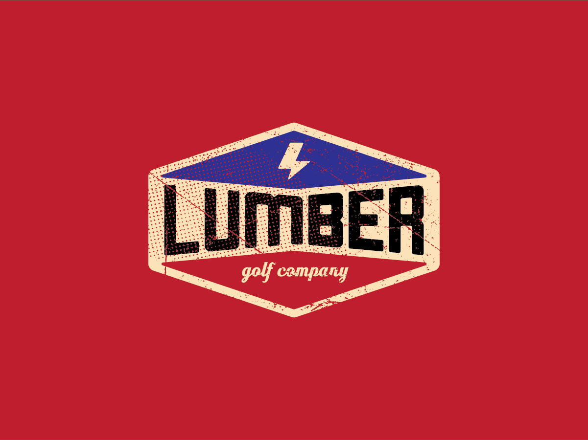 Bend Industries | Lumber Golf Co. typogaphy icon logomarks apparel logo artwork vector logos concept design branding logo illustration graphic design