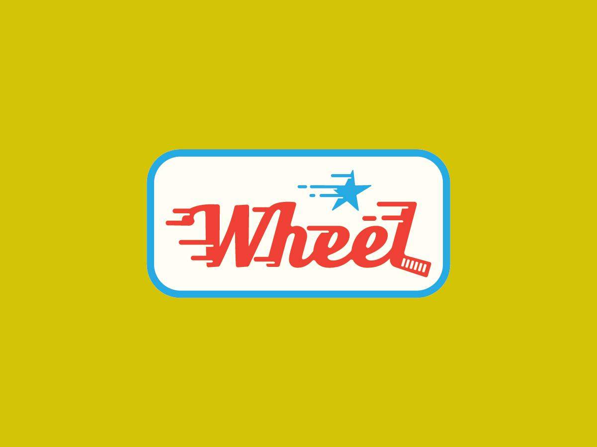 Bend Industries | Wheel hockey icon package design artwork vector logos concept design branding logo illustration graphic design