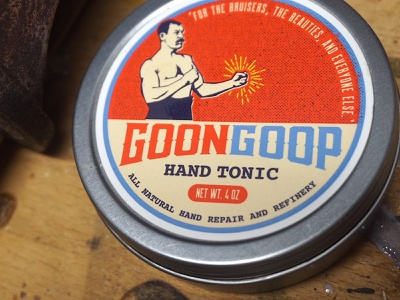 Bend Industries | Goon Goop skin care sports fighting boxing character design character package design artwork vector logos concept design logo branding illustration graphic design