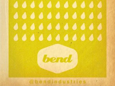 bend logo - rain