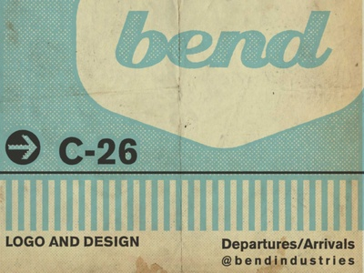 bend logo series