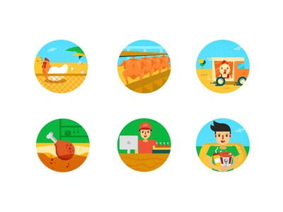 Fast food series icon