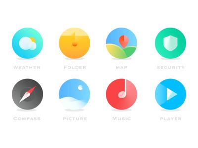 Mobile theme icon 2 application icons mobile theme