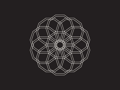 Daily Stem Art Geometric Experiment 008