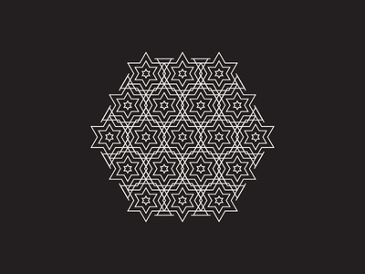 Daily Stem Art Geometric Experiment 009