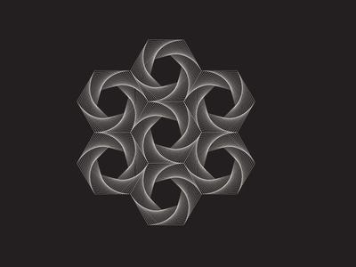 Daily Stem Art Geometric Experiment 010