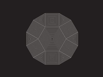 Daily Stem Art Geometric Experiment 012