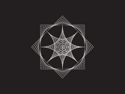Daily Stem Art Geometric Experiment 019