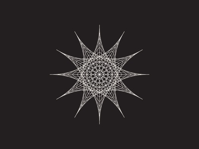 Daily Stem Art Geometric Experiment 020