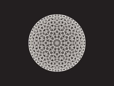 Daily Stem Art Geometric Experiment 024