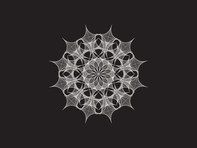 Daily Stem Art Geometric Experiment 028