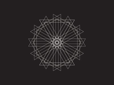 Daily Stem Art Geometric Experiment 029