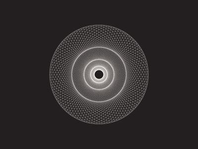 Daily Stem Art Geometric Experiment 030
