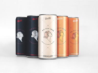 Hello dribbble! minimalist beer wine label vintage elegant modern packaging illustration