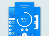 Water Reminder App Design