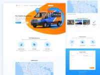 Car Sharing Landing Page
