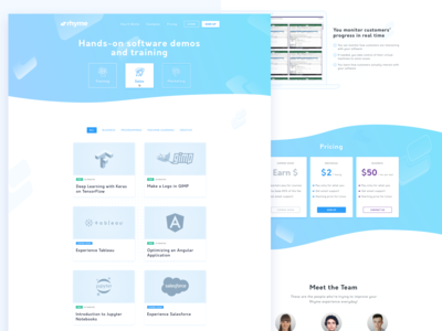 Software Company Home Page