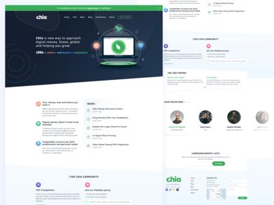 Ico Home Page Design
