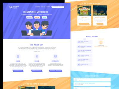 Software Challenge Website for Kids