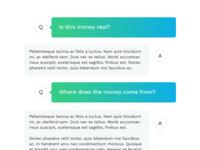 FAQs as a conversation
