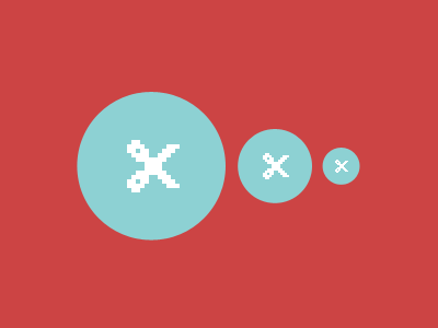 Pixel Perfect Scaling pixiconz icons scaling vectors