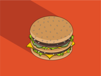 Isometric Big Mac