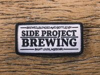 Side Project Brewing Badge Patch