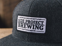Side Project Brewing Badge Patch Wool Hat