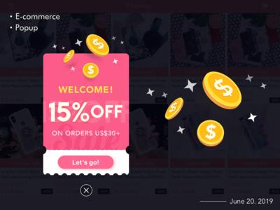 Sales Promotion Popup