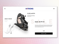 HiTrons Product Page Concept