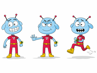 Alien Hero hero alienhero alien design illustration character design character