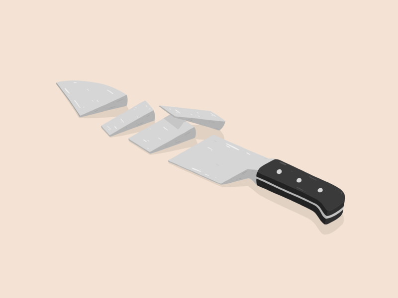 Knife illustration by Samy Löwe illustrations art adobe sketch adobe draw illustration art design art digitaldrawing creative vector painted illustrator illustration design