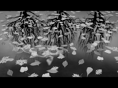 99 Frames 2012  – Three Worlds (still) 99frames c4d cinema4d animation escher m c escher