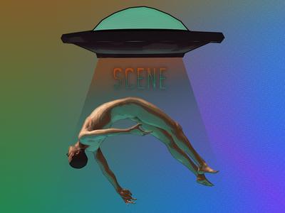 Scene: Ufo & Abduction